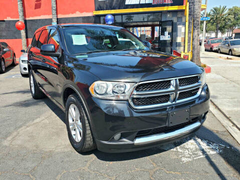 2013 Dodge Durango for sale at Carzone Automall in South Gate CA