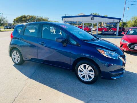 2018 Nissan Versa Note for sale at Pioneer Auto in Ponca City OK