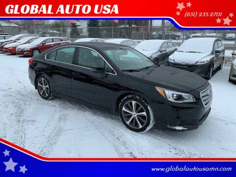 2015 Subaru Legacy for sale at GLOBAL AUTO USA in Saint Paul MN
