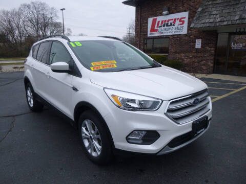 2018 Ford Escape for sale at Luigi's Automotive Collision Repair & Sales in Kenosha WI