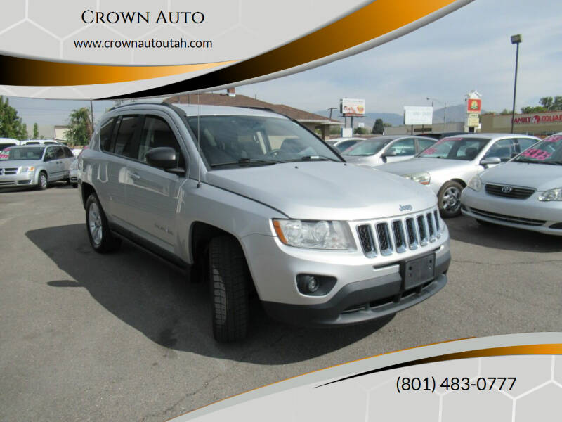 2011 Jeep Compass for sale at Crown Auto in South Salt Lake City UT
