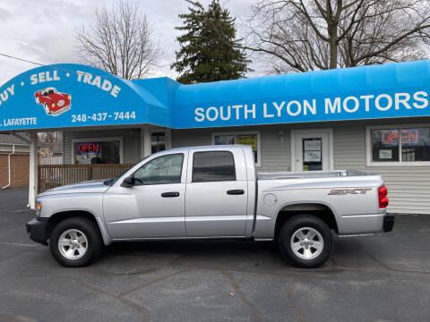 2008 Dodge Dakota for sale at South Lyon Motors INC in South Lyon MI