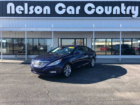 2012 Hyundai Sonata for sale at Nelson Car Country in Bixby OK