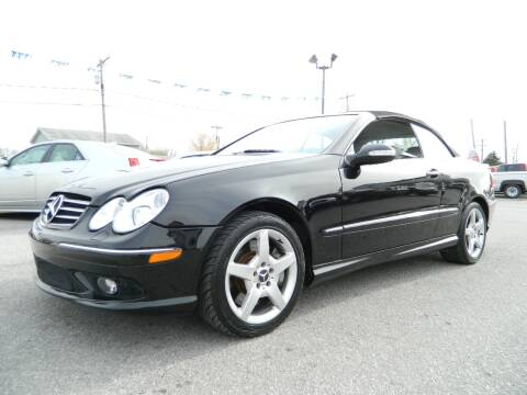 2005 Mercedes-Benz CLK for sale at Auto House Of Fort Wayne in Fort Wayne IN