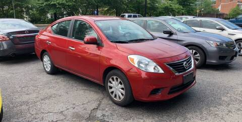 2013 Nissan Versa for sale at Car World Inc in Arlington VA