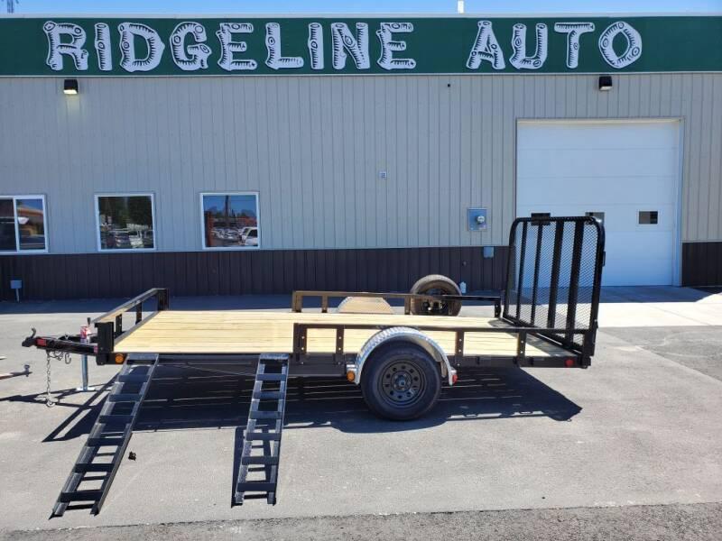 2021 PJ 7X14 for sale at RIDGELINE AUTO in Chubbuck ID