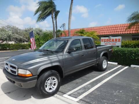 2004 Dodge Dakota for sale at Uzdcarz Inc. in Pompano Beach FL