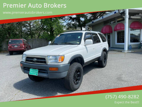 1998 Toyota 4Runner for sale at Premier Auto Brokers in Virginia Beach VA