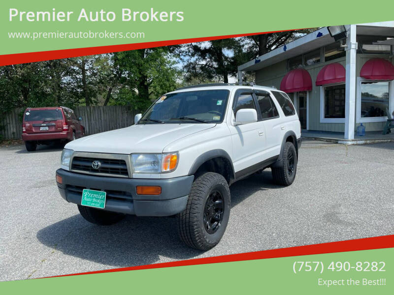 1998 Toyota 4Runner for sale at Premier Auto Brokers in Virginia Beach VA