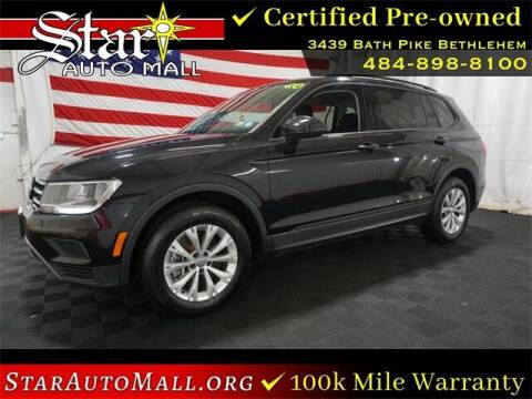 2018 Volkswagen Tiguan for sale at STAR AUTO MALL 512 in Bethlehem PA