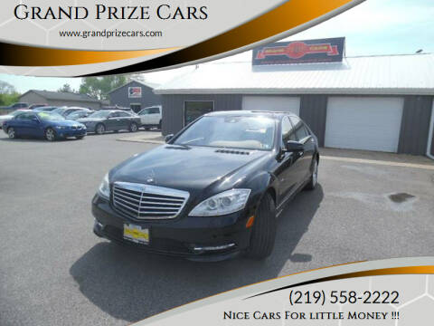2012 Mercedes-Benz S-Class for sale at Grand Prize Cars in Cedar Lake IN