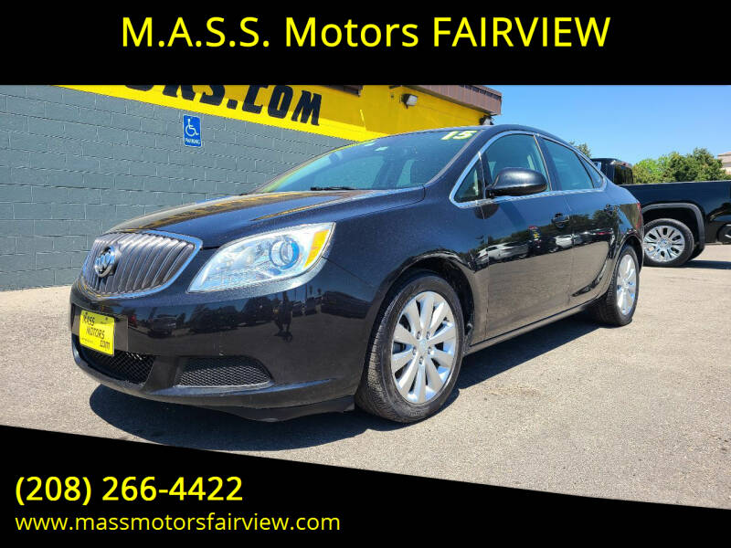 2015 Buick Verano for sale at M.A.S.S. Motors - Fairview in Boise ID