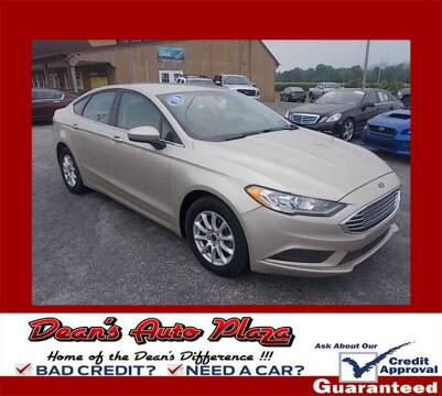 2018 Ford Fusion for sale at Dean's Auto Plaza in Hanover PA