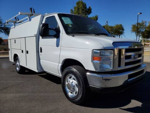 2016 Ford E-Series Chassis for sale at AZ WORK TRUCKS AND VANS in Mesa AZ