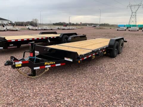 2021 Big Tex 14TL-20 Split Tilt #7845 for sale at Prairie Wind Trailers, LLC in Harrisburg SD