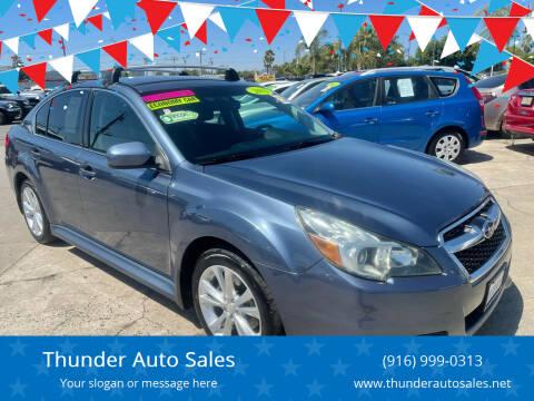 2013 Subaru Legacy for sale at Thunder Auto Sales in Sacramento CA