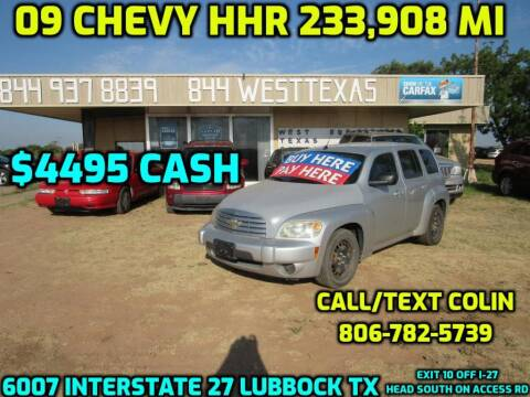 2009 Chevrolet HHR for sale at West Texas Consignment in Lubbock TX