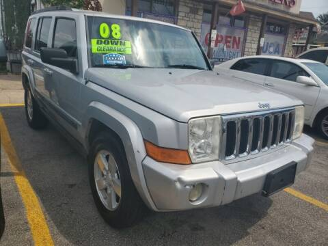 2008 Jeep Commander for sale at USA Auto Brokers in Houston TX