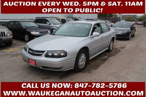 2004 Chevrolet Impala for sale at Waukegan Auto Auction in Waukegan IL