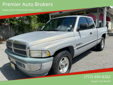 1998 Dodge Ram Pickup 1500 for sale at Premier Auto Brokers in Virginia Beach VA
