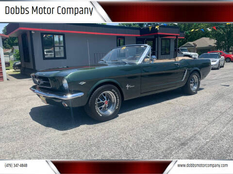 1965 Ford Mustang for sale at Dobbs Motor Company in Springdale AR