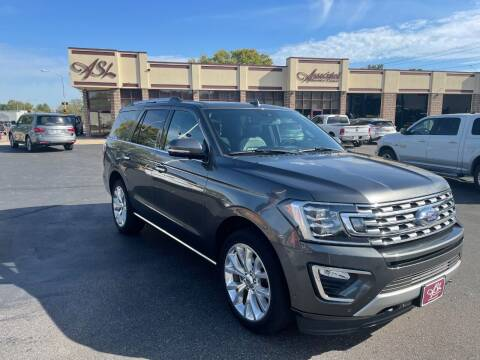 2019 Ford Expedition for sale at ASSOCIATED SALES & LEASING in Marshfield WI