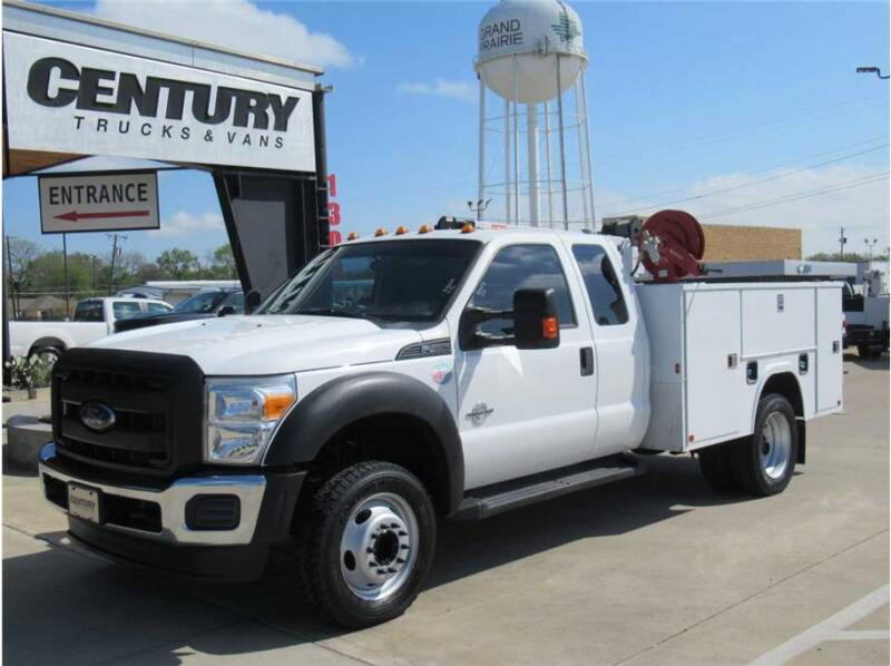 2015 Ford F-450 Super Duty for sale at CENTURY TRUCKS & VANS in Grand Prairie TX