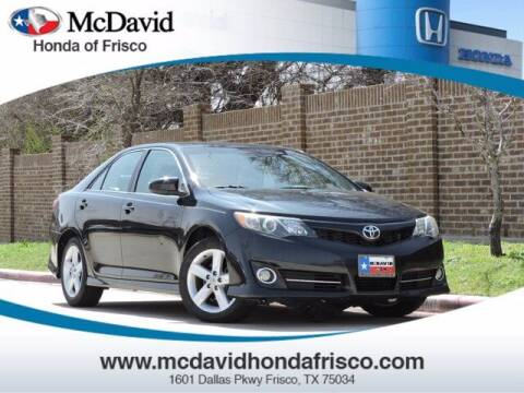 2014 Toyota Camry for sale at DAVID McDAVID HONDA OF IRVING in Irving TX