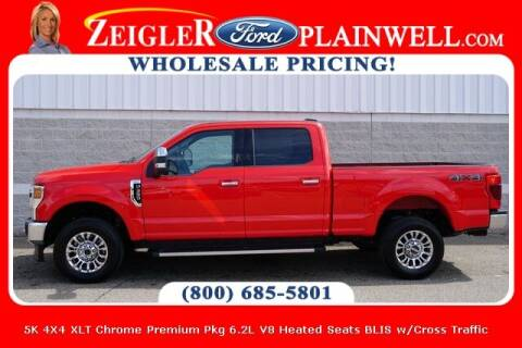 2021 Ford F-350 Super Duty for sale at Zeigler Ford of Plainwell- Jeff Bishop in Plainwell MI