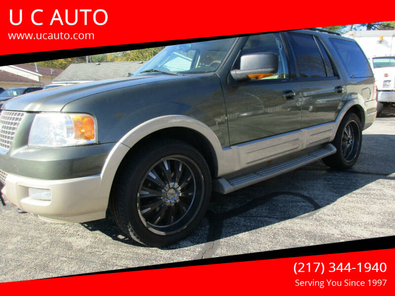 2005 Ford Expedition for sale at U C AUTO in Urbana IL