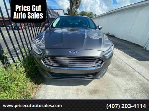 2016 Ford Fusion for sale at Price Cut Auto Sales in Orlando FL