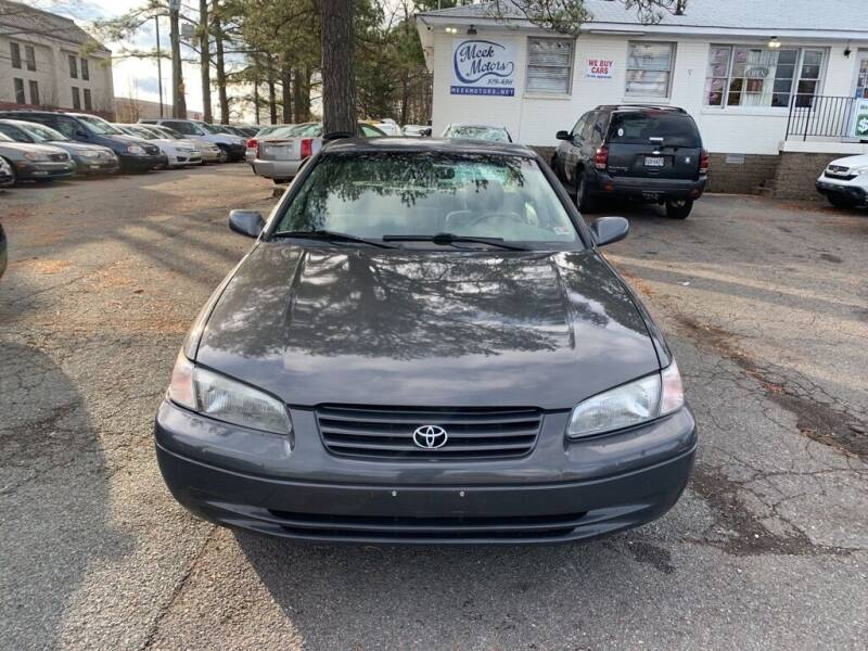 1999 Toyota Camry for sale at MEEK MOTORS in North Chesterfield VA
