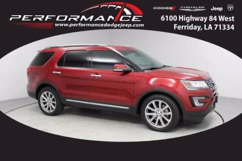 2017 Ford Explorer for sale at Auto Group South - Performance Dodge Chrysler Jeep in Ferriday LA