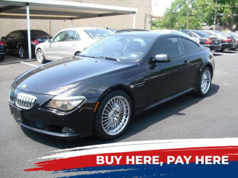 2008 BMW 6 Series for sale at German Exclusive Inc in Dallas TX