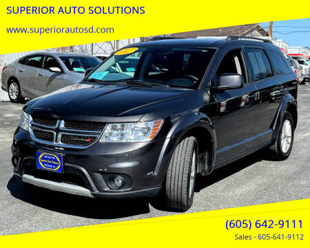 2017 Dodge Journey for sale at SUPERIOR AUTO SOLUTIONS in Spearfish SD