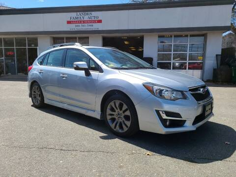 2016 Subaru Impreza for sale at Landes Family Auto Sales in Attleboro MA