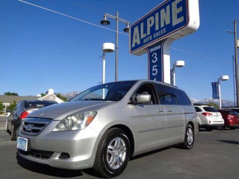 2007 Honda Odyssey for sale at Alpine Auto Sales in Salt Lake City UT