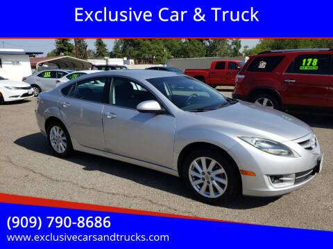 2012 Mazda MAZDA6 for sale at Exclusive Car & Truck in Yucaipa CA