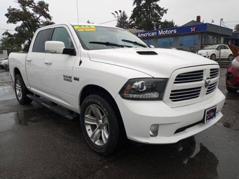 2016 RAM Ram Pickup 1500 for sale at All American Motors in Tacoma WA