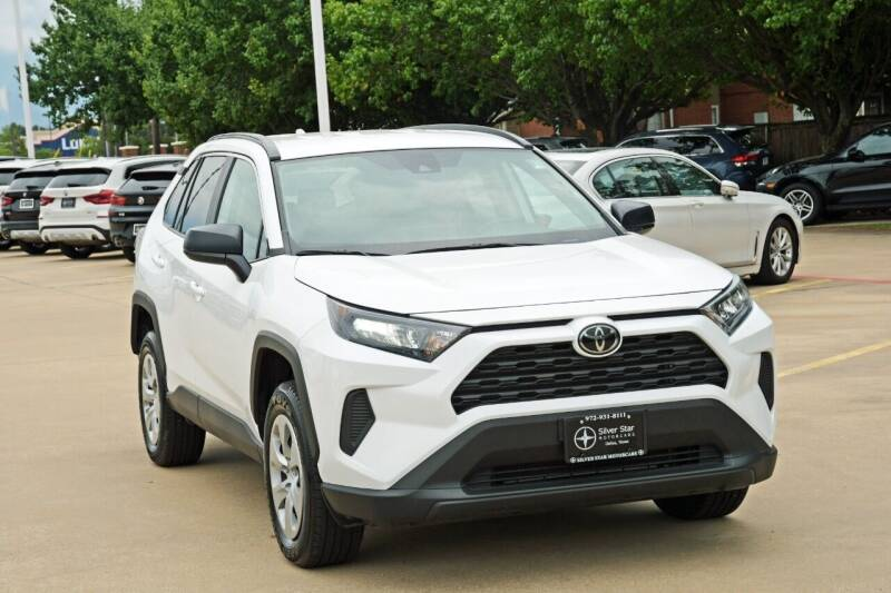 2021 Toyota RAV4 for sale at Silver Star Motorcars in Dallas TX