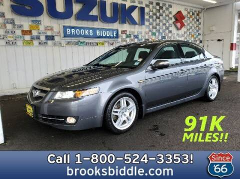 2008 Acura TL for sale at BROOKS BIDDLE AUTOMOTIVE in Bothell WA