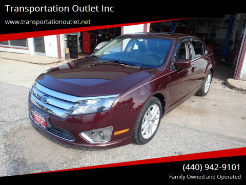 2011 Ford Fusion for sale at Transportation Outlet Inc in Eastlake OH