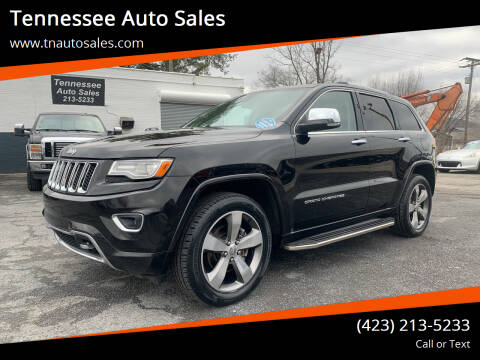 2014 Jeep Grand Cherokee for sale at Tennessee Auto Sales in Elizabethton TN