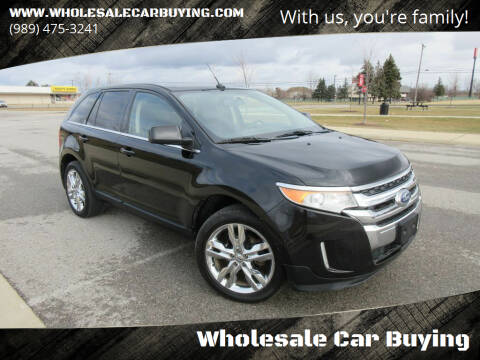 2011 Ford Edge for sale at Wholesale Car Buying in Saginaw MI