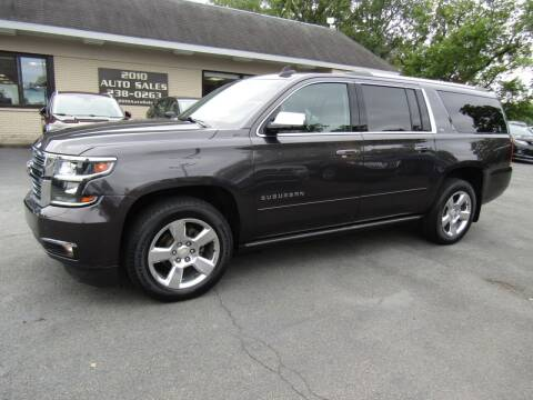 2016 Chevrolet Suburban for sale at 2010 Auto Sales in Troy NY