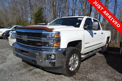 2015 Chevrolet Silverado 2500HD for sale at Brandon Reeves Auto World in Monroe NC