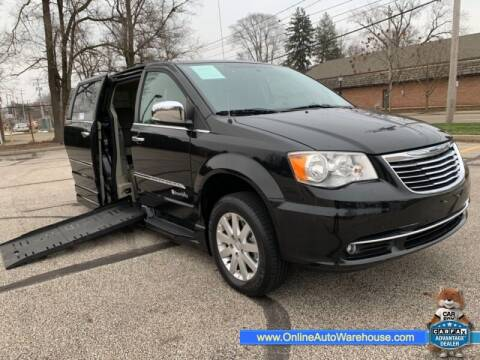 2012 Chrysler Town and Country for sale at IMPORTS AUTO GROUP in Akron OH