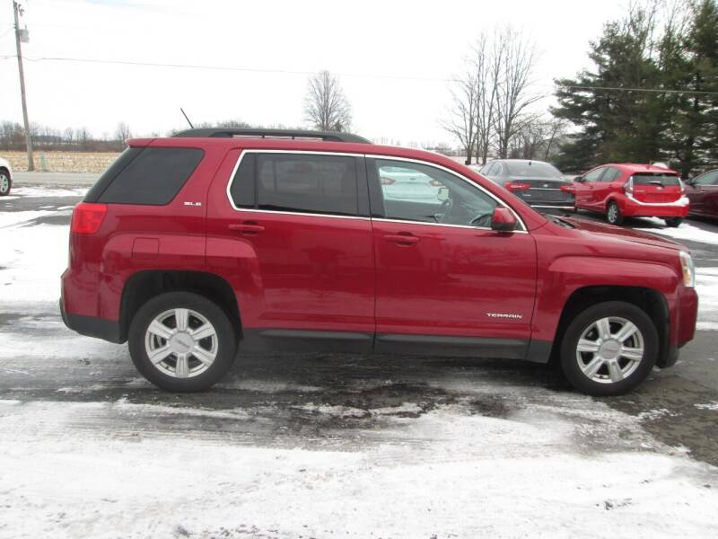 2014 GMC Terrain for sale at Knauff & Sons Motor Sales in New Vienna OH