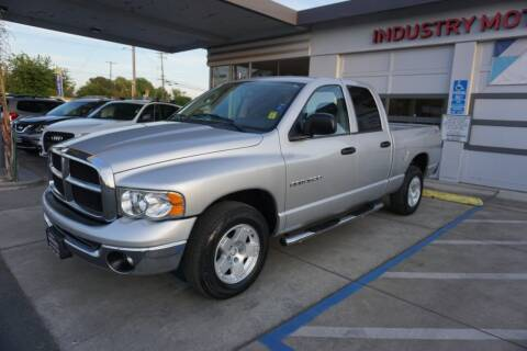 2005 Dodge Ram Pickup 1500 for sale at Industry Motors in Sacramento CA