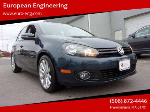 2013 Volkswagen Golf for sale at European Engineering in Framingham MA